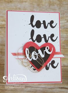 Spread Kindness, Valentines, Stampin' Up! - SU - Sunshine Wishes Thinlits Dies