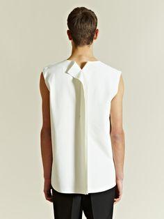 Yang Li Men's Oversized Sleeveless Box Top