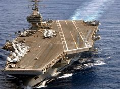 """Navy - Aircraft Carrier - USS """"Theodore Roosevelt"""" with embarked - March 2008 Navy Marine, Navy Military, Military Life, Uss Theodore Roosevelt, Navy Carriers, Navy Aircraft Carrier, Go Navy, Us Navy Ships, Naval"""