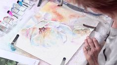 Follow along with this http://ArtistsNetwork.tv watercolor tutorial as Julie Gilbert Pollard shares her watercolor techniques for how to paint white flowers ...