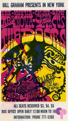 Fillmore East - New York City - I attended a Doors concert here in 1969...Santana was the new opening act.