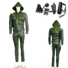 eFunLive - Arrow Oliver Queen Green Arrow Man Cosplay Costume, $118.79 (http://www.efunlive.com/arrow-oliver-queen-green-arrow-man-cosplay-costume/)