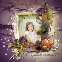 Golden Leaves [delph_golden_leaves] - €3.90 : My Scrap Art Digital, Passion for Digital Scrapbooking
