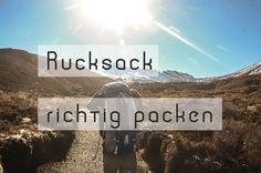 Ein gut gepackter Rucksack erleichtert das Tragen und man findet schneller was man sucht. Den Rucksack richtig packen - Unsere 6 ultimativen Tipps!