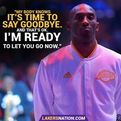 Kobe Bryant Quotes New The End Of An Era  Black Mamba Kobe Bryant  Pinterest  Kobe . Design Inspiration