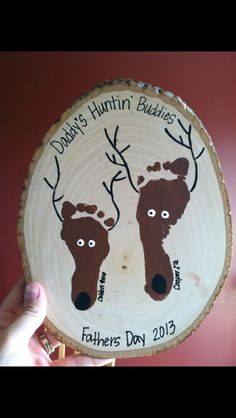 "Love this idea! Thinking ill say ""grandpa's cabin buddies"""