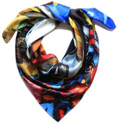 Good & Co - Leipzig Love silk scarf