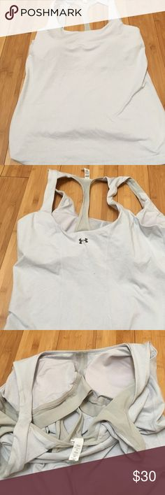 Under Armour All Season Gear Built in Bra Tank Nwot Under Armour Tops Tank Tops