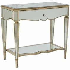 Build A Mirrored Nightstand - WoodWorking Projects & Plans