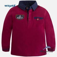 Comprar Polo de manga larga MAYORAL para chico algodón bordado 5b4a0f90605a1