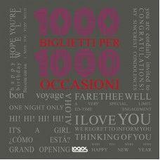 1000 Biglietti Per 1000 Occasioni / Logos