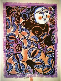 Woodblock Printmaker Shiko Munakata