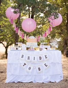 vintage gold bridal shower