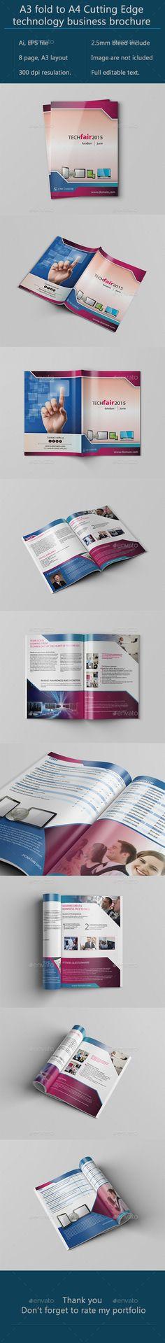 Creative Bathroom Catalog Template Brochures, Brochure template - technology brochure template