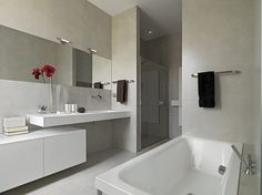 Tendencias. Microcemento en el baño. | Decorar tu casa es facilisimo.com