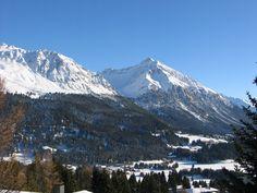 Blick von Valbella Richtung Lenzerheide