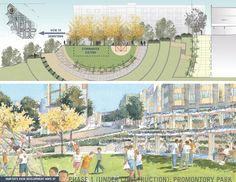 Hunters View Public Housing Neighborhood Redevelopment  San Francisco  GLS Landscape / Architecture and Daniel Solomon Design Partners, San Francisco