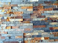 "Stone Siding - Natural Ledge Stone - Rustic Slate / Ledge Stone 6""x24"""