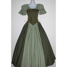 irish dress | Irish Lady Ensemble - medieval renaissance wench clothing - Polyvore