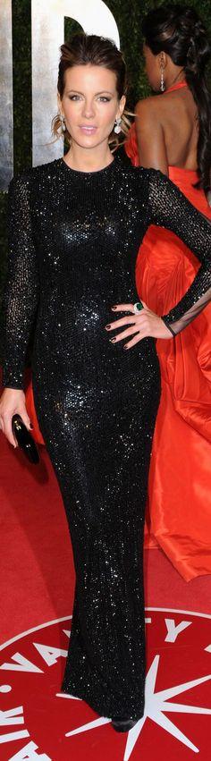 Sexy and elegant long dress #black #glitter