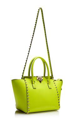 Rockstud Mini Shopper by Valentino for Preorder on Moda Operandi