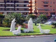 Christmas decorations in San Miguel Tenerife. Magic!
