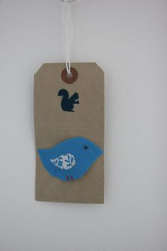 Little bird snap hair clip in blue with a by SecretSquirrel13, £2.50