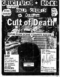 Crucifuck//Dicks//Half Church//Afflicted