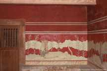 Throne Chamber, Palace of Knossos, Crete