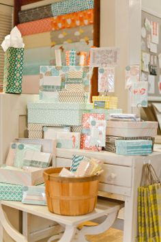Pretty Smock display at Urbanic Paper Boutique