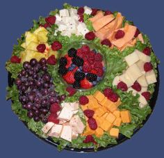 fruit platter ideas | This platter tastes as good as it looks. Our platters can be ...
