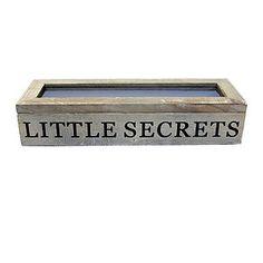 Little Secrets Wooden Box
