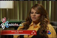 Jenni Rivera Hablando Sobre Sus Padres @jennirivera @ElGordoyLaFlaca   Cachicha.com