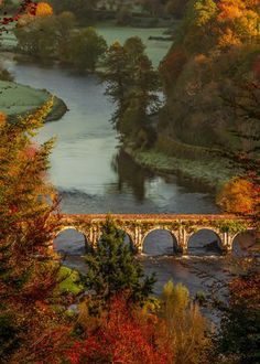 Inistioge Bridge, Inistioge, County Kilkenny, Ireland.