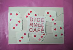 Finished custom garlands ready to rock and roll for Dice Roll Cafe!