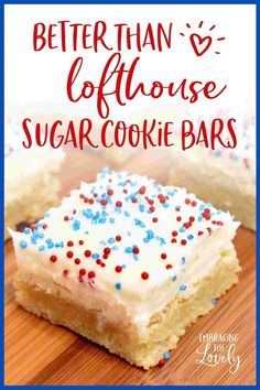 Quick and Easy Sugar Cookies Recipe Bars- Press In a Pan Sugar Cookies Better Than Lofthouse Quick a Sugar Cookie Recipe Easy, Sugar Cookie Bars, Easy Sugar Cookies, Easy Cookie Recipes, Easy Recipes, Cookie Cups, Baking Recipes, Keto Recipes, Keto Cookies
