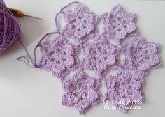 Tecendo Artes em Crochet: O que Ando Fazendo...Vem Espiar!