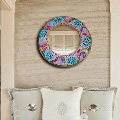 abstrac mirror by IDARTSHOP on Etsy