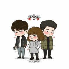 #StrongWomanDoBongSoon #ParkHyungSik #ParkBoYoung #KimJiSoo #JiSoo   #KoreanDrama #jtbc #chibi @freak_drawer