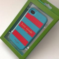 Kate Spade: iPhone 4/4s case Premium silicone case for your iPhone. 32 Perfect for gift ideas  ❌NO trades ❌NO PayPal  Bundle to get discount Please use OFFER option kate spade Accessories