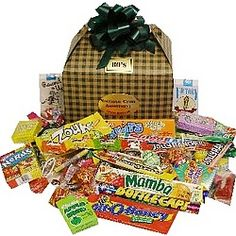 Our Saint Patrick's Day Retro Candy Gift Box is full of favorite nostalgic candy assortments from past decades. Choose any decade from to Each box contains over 55 pieces. Candy Gift Box, Candy Gifts, Nostalgic Candy, Retro Candy, St Patricks Day, Simple, Candy Favors