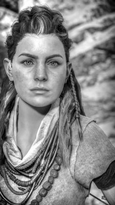 These are a small selection of character-focused screenshots taken by our players using the in-game photo mode Many thanks to those who took the time to capture these moments. We're are in awe of your amazing photography skills! Pose Reference Photo, Face Reference, Horizon Zero Dawn Wallpaper, Horizon Zero Dawn Aloy, Steampunk Cosplay, Legend Of Zelda Breath, Zbrush, Female Art, Game Art