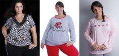 Pijamas Femininos Tamanhos Especiais