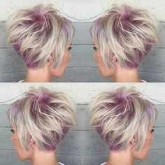 Lavender ice short cut