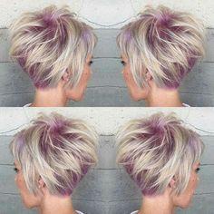 Lavender ice short cut
