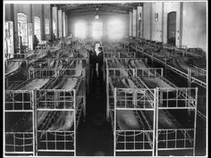 Double decker cots lined up in Immigrant Hotel, Buenos Aires, Argentina Ellis Island Immigrants, Society Problems, National Museum, South America, Netherlands, History, City, World, Building