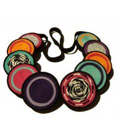 Color Mix Domino  www.luligrunstore.com  #jewelry #ecofriendly #handmade