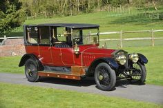 1914 Rolls-Royce 40/50-hp Silver Ghost Landaulette Coachwork by Barker.   Chassis no. 50YB Engine no. 109E