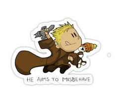(tags: Calvin and Hobbes, Firefly, Captain Reynolds, Jayne Cobb, Serenity, misbehave)