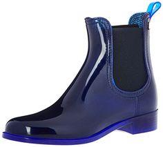 Pisa, Chelsea Boots Femme, Blau (Metal Blue), 37 EULemon Jelly
